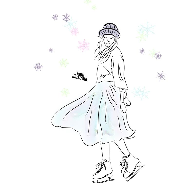 fashion-illustration-kateillustrate-tutuskirt