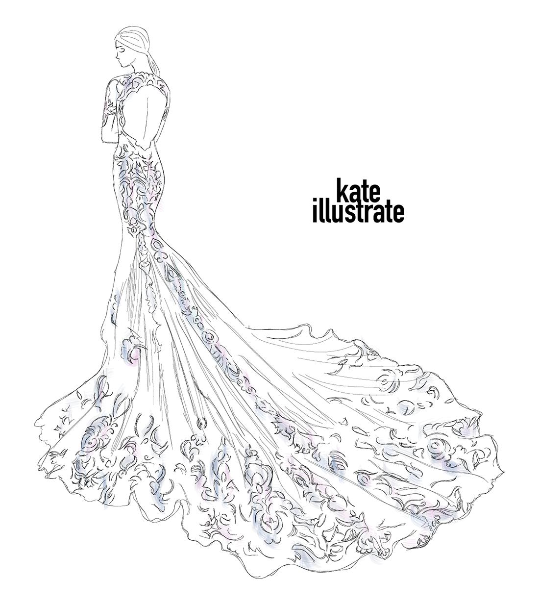 fashion-illustration-kateillustrate-berta-bridal