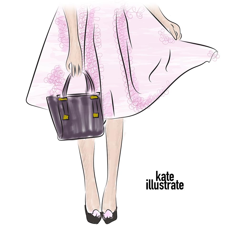 fashion-illustration-kateillustrate-tedbaker