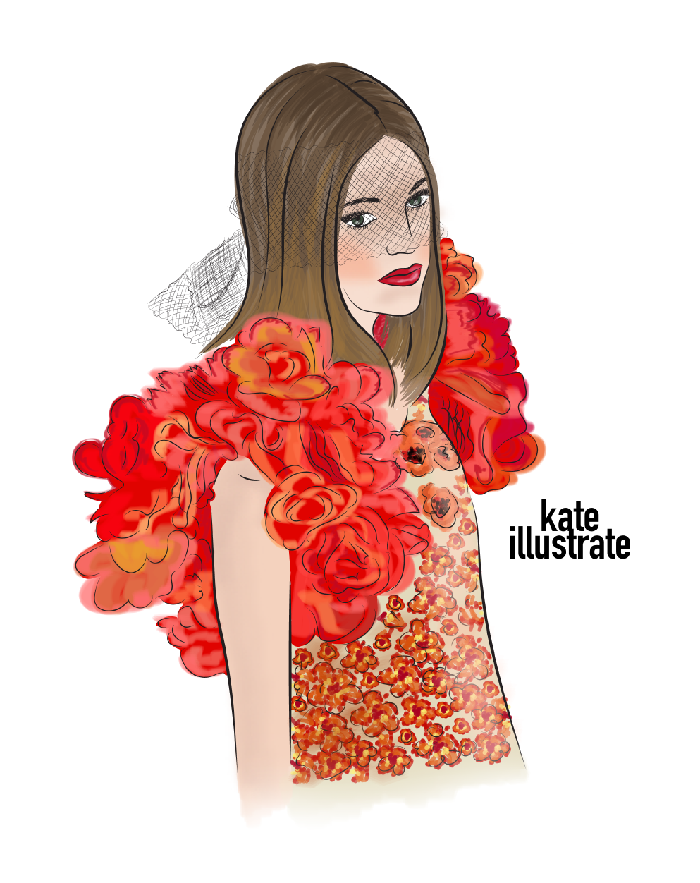 fashion-illustration-kateillustrate-CHANEL