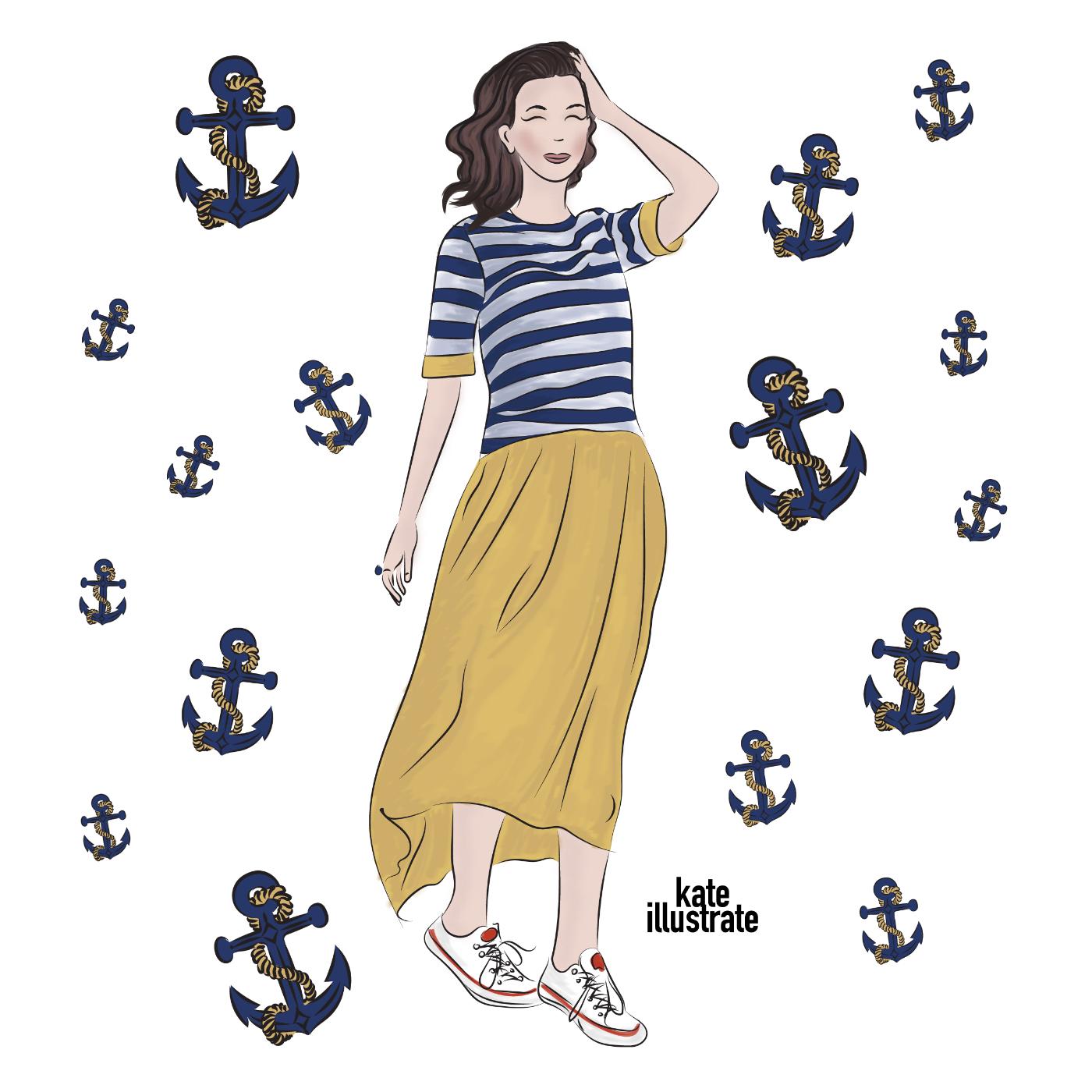 fashion-illustration-kateillustrate-sea-and-beach