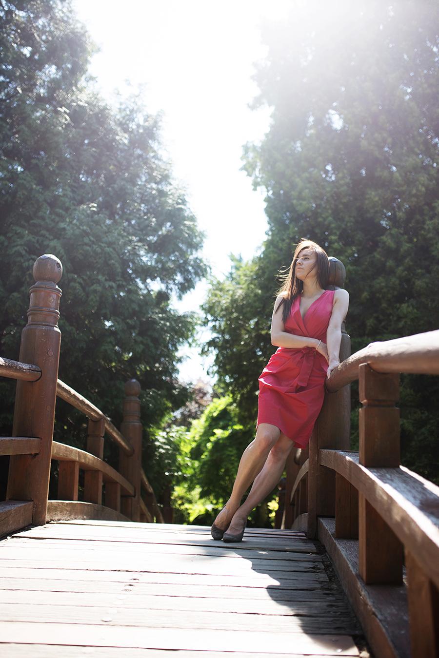 fashion-blog-kateillustrate red dress
