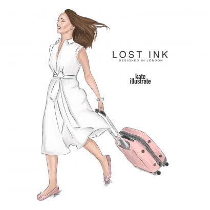 Lost ink illustration kateillustrate