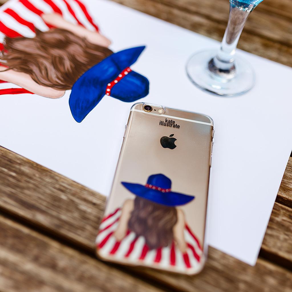 kateillustrate iphone case ipapai