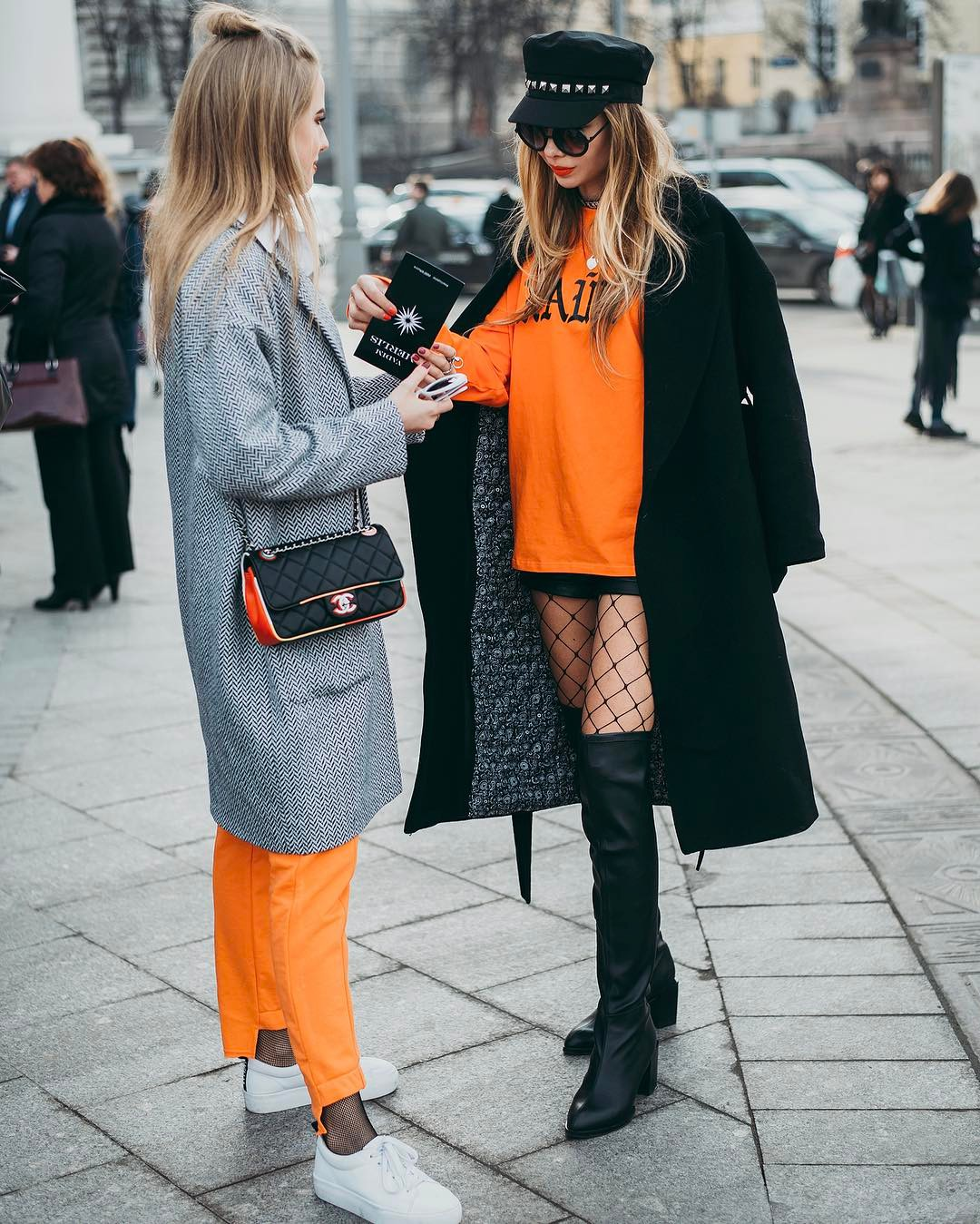 Street fashion blogger