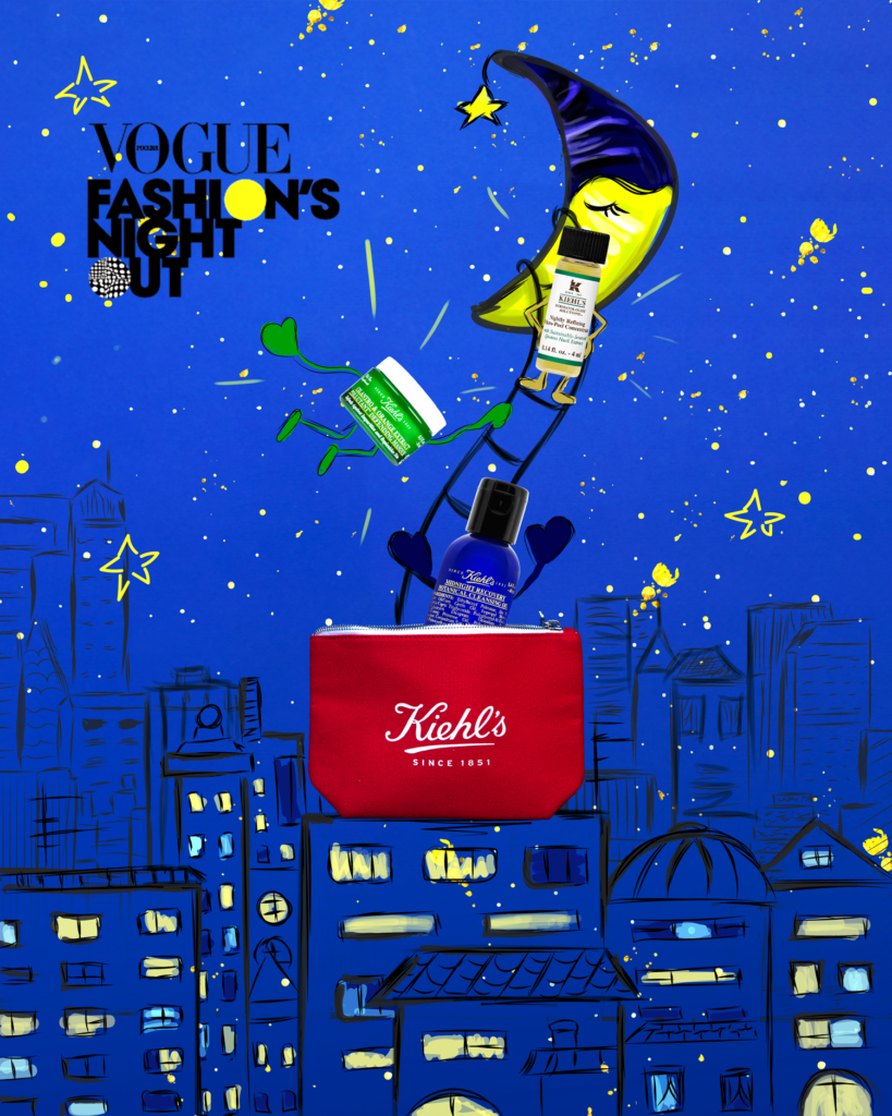 Kiehls Illustration